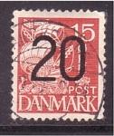 Sellos de Europa - Dinamarca -  carabela