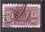 Stamps Italy -  Pacchi sul bolletino 1ª parte
