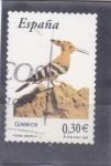Stamps : Europe : Spain :  fauna-abubilla (37)
