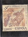 Stamps : Europe : Spain :  VII centenario de la muerte de Jaime I (37)
