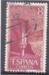 Sellos de Europa - España -  monasterio de Leyre  (37)
