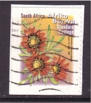 Stamps South Africa -  planta