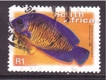 Sellos de Africa - Sudáfrica -  serie- peces
