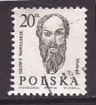 Stamps Poland -  serie- esculturas