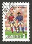 Stamps Hungary -  3273 - Mundial de fútbol Italia 90