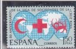 Sellos del Mundo : Europa : España : 50 aniversario de la liga de sociedades de la Cruz Roja (37)