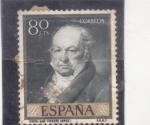 Stamps : Europe : Spain :  GOYA-Vicente López (37)
