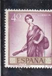 Sellos del Mundo : Europa : España : La copla (Romero de Torres) (37)