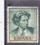 Sellos del Mundo : Europa : España :  retrato de Fortuny (37)