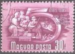 Sellos del Mundo : Europa : Hungría : Plan Quinquenal.Educacíon de los trabajadores.