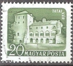 Sellos de Europa - Hungría -  Castillos (Tata).