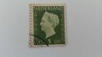 Sellos del Mundo : Europa : Holanda : Reina Wilhelmina