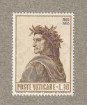Stamps Vatican City -  700 Años nacimiento Dante