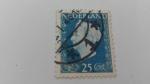 Stamps Netherlands -  Reina Wilhelmina