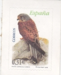 Sellos del Mundo : Europa : España :  fauna-cernícalo común  (37)
