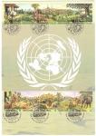 Sellos de Asia - Turquía -  homenaje a las Naciones Unidas
