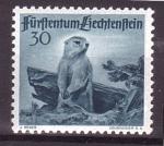Stamps of the world : Liechtenstein :  serie- fauna alpina