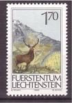 Stamps of the world : Liechtenstein :  serie- fauna local
