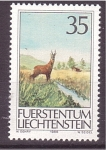 Sellos de Europa - Liechtenstein -  serie- fauna local