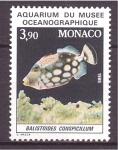 Stamps Monaco -  Acuarium Museo Oceanográfico