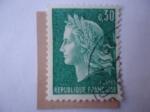 Stamps France -  Marianne del Pintor Henry Cheffer (1880-1957)