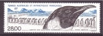 Stamps Europe - French Southern and Antarctic Lands -  Llegada del pigüino Emperador