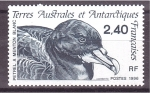 Stamps Europe - French Southern and Antarctic Lands -  Petrel de menton blanco