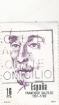 Sellos de Europa - España -  Francisco salcillo (37)