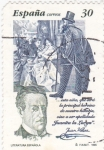 Stamps : Europe : Spain :  literatura española (37)