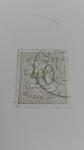 Stamps Belgium -  Leon Heraldico/Numero