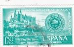 Stamps Spain -  Unión interparlamentaria  (37)