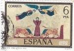 Stamps Spain -  beato blioteca nacional (37)