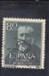 Stamps : Europe : Spain :  Menéndez Pelayo (37)