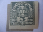 Stamps Austria -  Mercurio. Dios Mitológico.