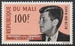 Sellos del Mundo : Africa : Mali : 24 - John F. Kennedy