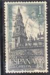 Sellos de Europa - España -  catedral de Santiago (37)