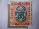 Stamps Nicaragua -  Ciudad de Nueva Segovia - Escudo de Armas.