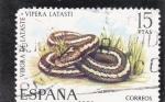 Sellos de Europa - España -  vibora (37)