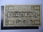 Stamps Belgium -  Sello Ferroviario- Escudo de Armas