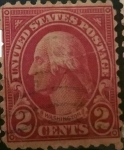 Stamps United States -  George Washington 2c