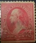 Stamps United States -  George Washington 2c