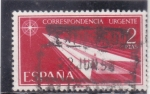 Stamps : Europe : Spain :  correspondencia urgente (38)