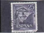 Stamps : Europe : Spain :  monasterio de San José-Avila-   (38)