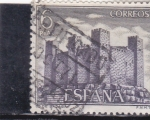 Stamps : Europe : Spain :  castillo de Sadaba   (38)