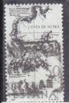 Stamps Spain -  costa de Nutka  (38)