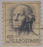 Stamps United States -  George Washington 5c