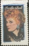 Sellos del Mundo : America : Estados_Unidos : Lucille Ball, actriz