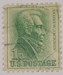 Stamps : America : United_States :  Andrew Jackson 1c