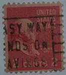 Stamps United States -  John Adams 2c