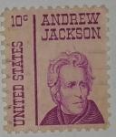 Stamps United States -  Andrew Jackson 10c